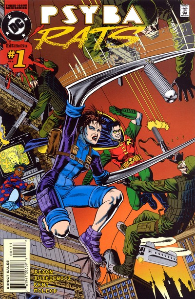 The Psyba-Rats #1 – 3 (1995)