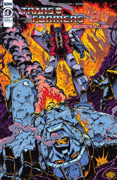 Transformers '84 – Secrets and Lies #1 – 4 (2020)