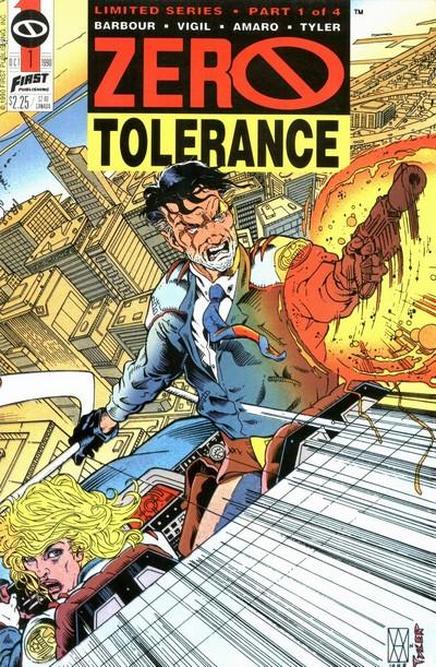 Zero Tolerance #1 – 4 (1990-1991)