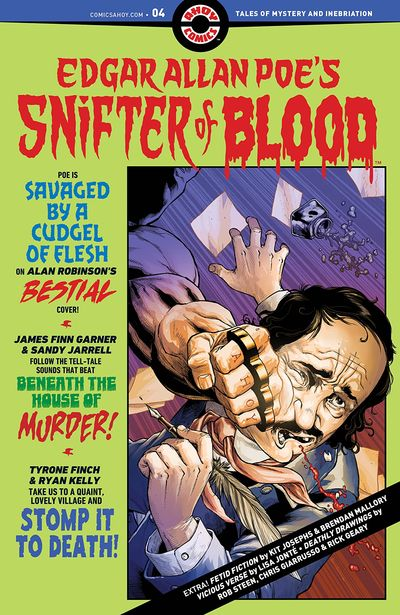 Edgar Allan Poe's Snifter of Blood #4 (2021)