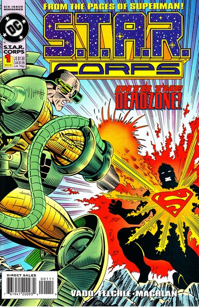 S.T.A.R. Corps #1 – 6 (1993-1994)
