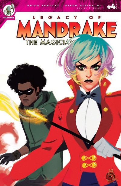 The Legacy of Mandrake the Magician #4 (2021)