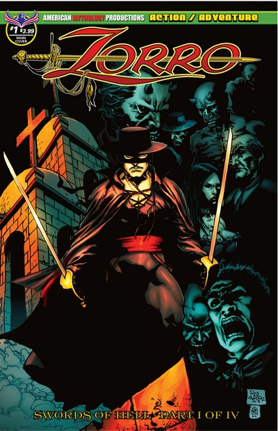 Zorro – Swords of Hell #1 – 4 (2018-2019)