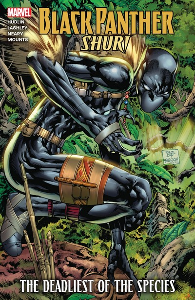 Black Panther – Shuri – Deadliest of the Species (TPB) (2015)