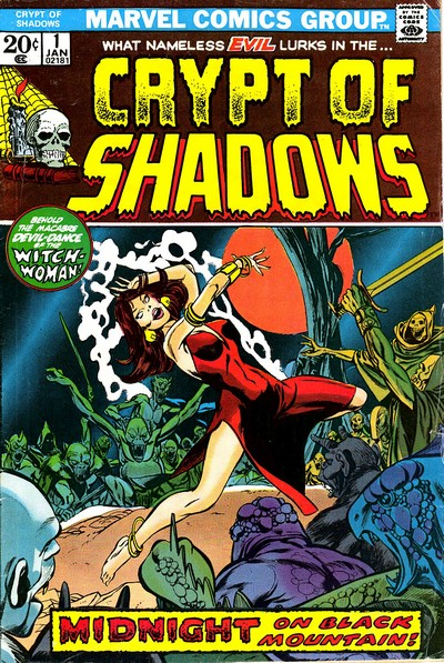 Crypt of Shadows #1 – 21 (1973-1975)