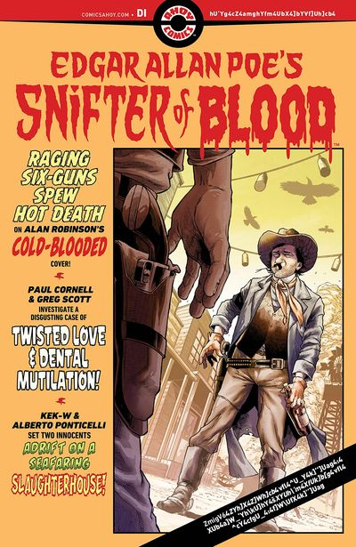 Edgar Allan Poe's Snifter of Blood #5 (2021)