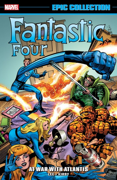 Fantastic Four Epic Collection Vol. 6 – At War With Atlantis (2020)