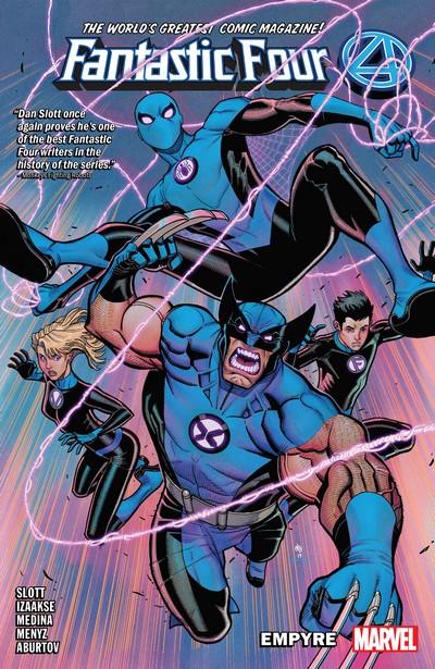 Fantastic Four Vol. 6 – Empyre (TPB) (2021)