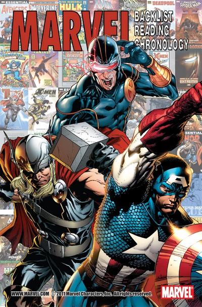 Marvel Backlist Chronology #1 (2011)