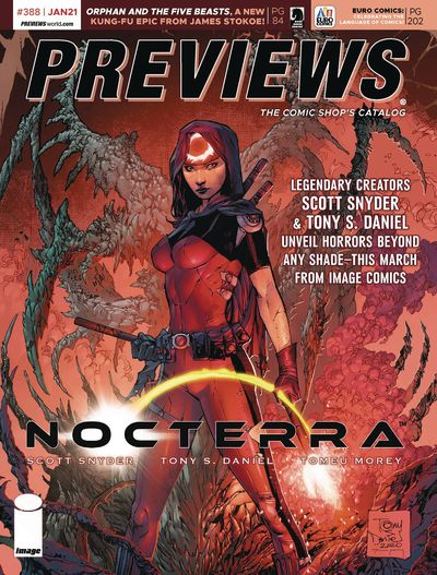 Previews #388 (January for March 2021)