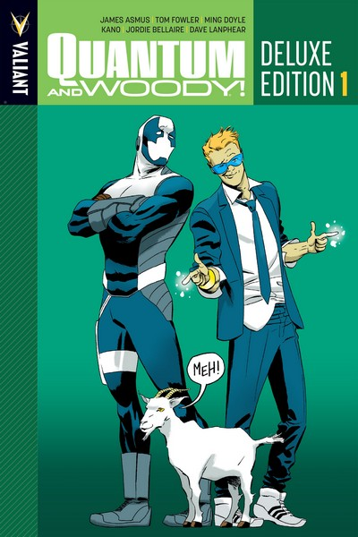 Quantum and Woody – Deluxe Edition – Book 1 (2015)