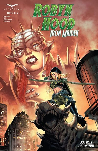 Robyn Hood – Iron Maiden #2 (2021)