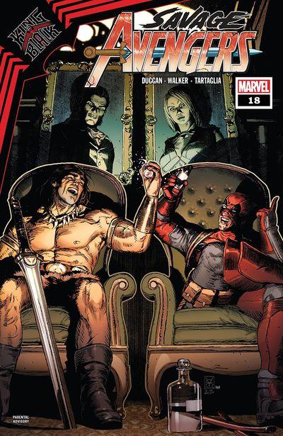 Savage Avengers #18 (2021)