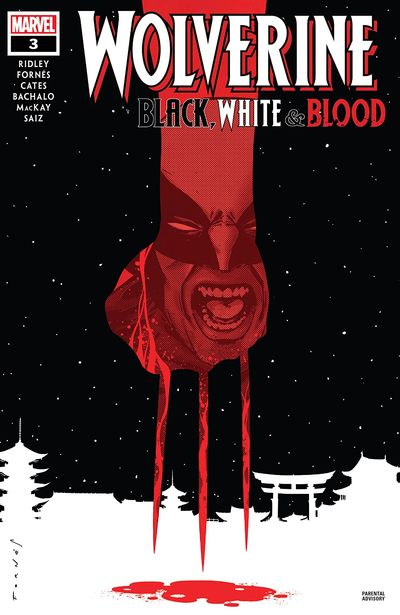 Wolverine – Black, White & Blood #3 (2021)