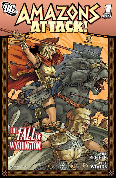 Amazons Attack #1 – 6 (2007)