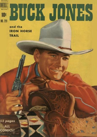 Buck Jones #1 – 8 (1950-1952)