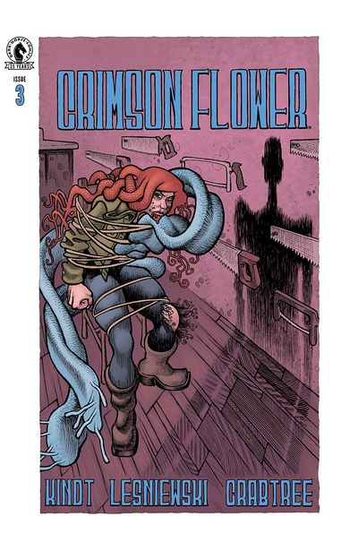 Crimson Flower #3 (2021)