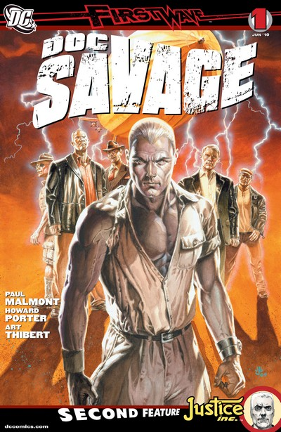 Doc Savage #1 – 18 (2010-2012)