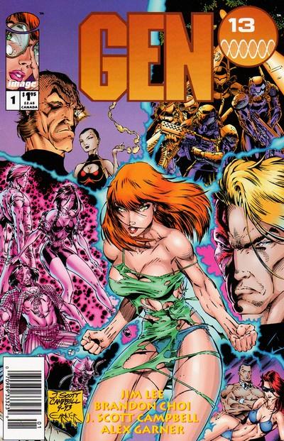 Gen 13 Vol. 1 #0 – 5 (1994)