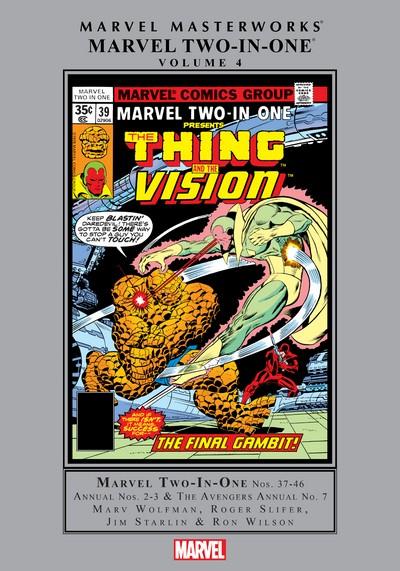 Marvel Masterworks – Marvel Two-In-One Vol. 4 (2019)