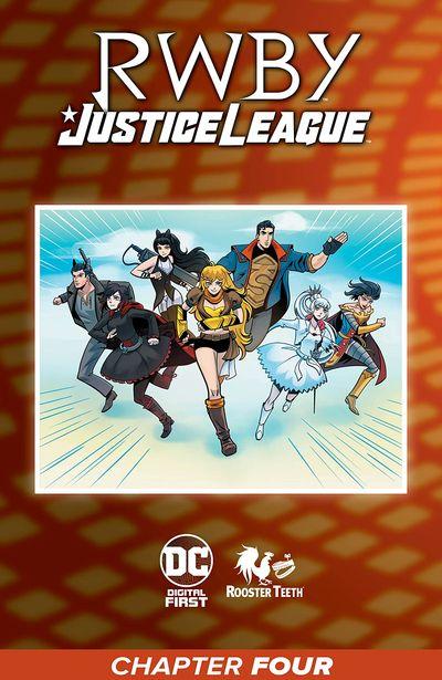 RWBY – Justice League #4 (2021)