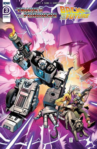 Transformers – Back to the Future #3 (2021)