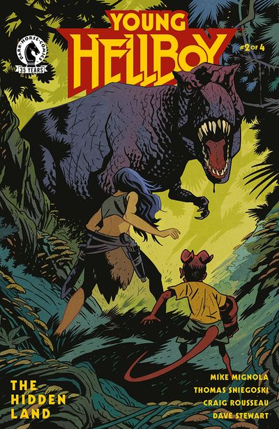 Young Hellboy – The Hidden Land #2 (2021)