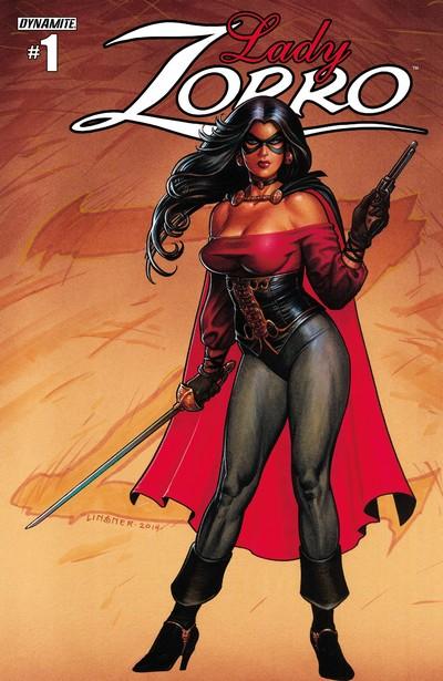 Lady Zorro #1 – 4 (2014)