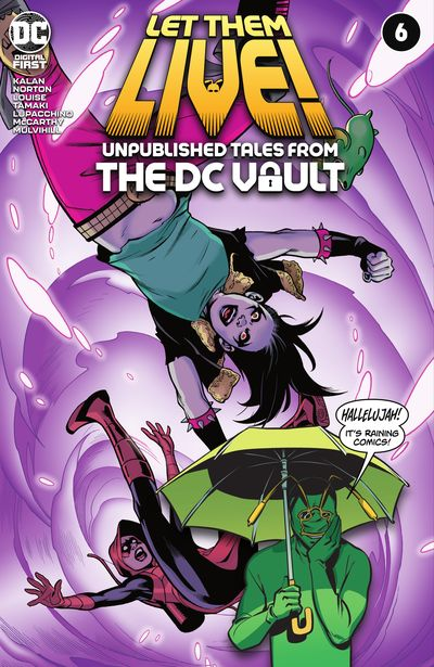 Let Them Live! – Unpublished Tales from the DC Vault #6 (2021)