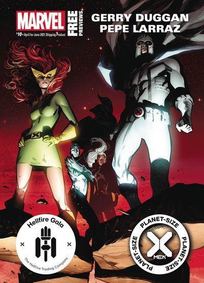 Marvel Previews #10 (April for June 2021)