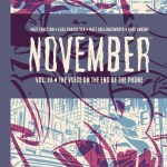 November Book 3 – The Voice on the End of the Phone (2020)
