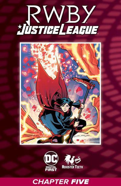 RWBY – Justice League #5 (2021)