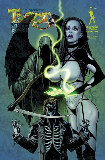 Tarot – Witch of the Black Rose #127 (2021)