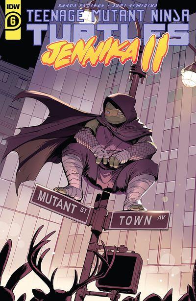 Teenage Mutant Ninja Turtles – Jennika II #6 (2021)
