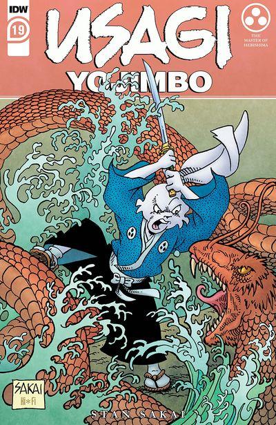 Usagi Yojimbo #19 (2021)