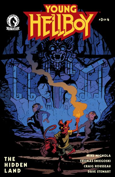 Young Hellboy – The Hidden Land #3 (2021)
