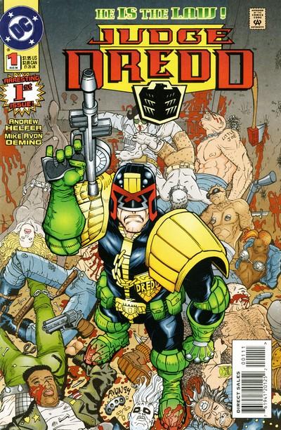 Judge Dredd #1 – 18 (1994-1996)
