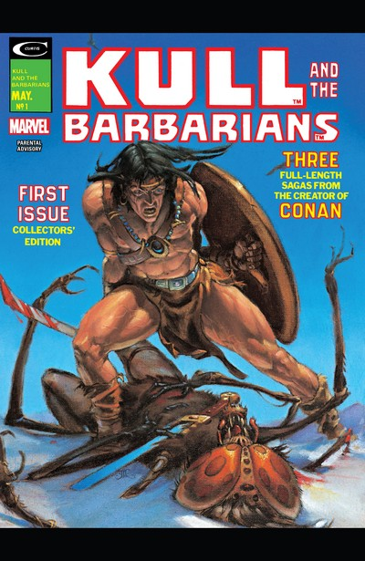 Kull And The Barbarians #1 – 3 (1975)