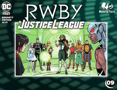 RWBY – Justice League #9 (2021)