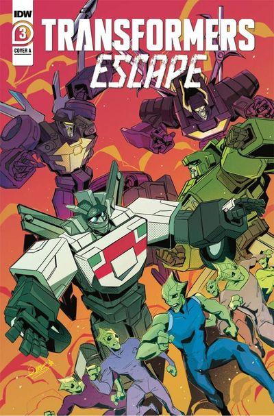 Transformers – Escape #3 (2021)