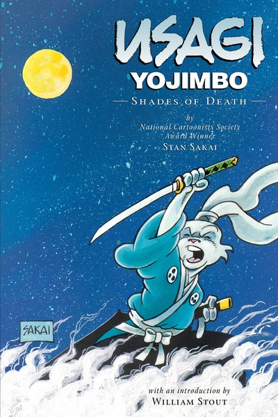 Usagi Yojimbo Book 8 – Shades of Death (2010, 2nd edition)
