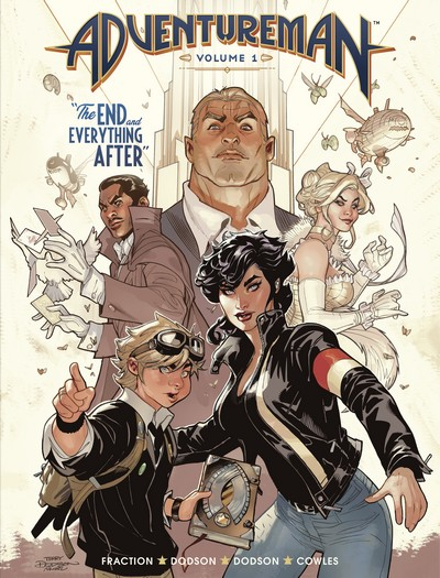Adventureman Vol. 1 – The End and Everything After (TPB) (2020)