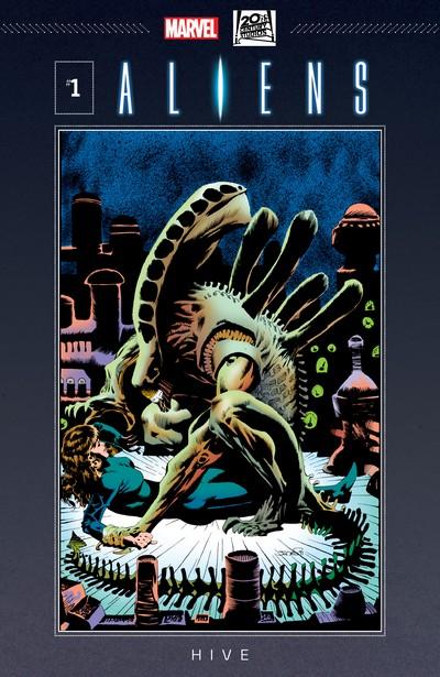Aliens – Hive #1 – 4 [Marvel] (1992)