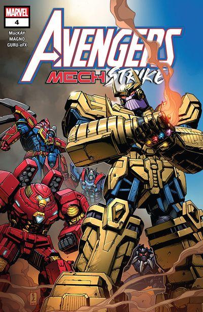 Avengers Mech Strike #4 (2021)
