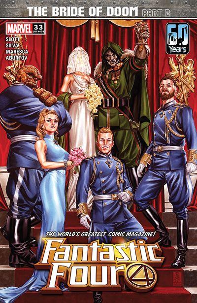 Fantastic Four #33 (2021)
