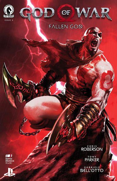 God of War – Fallen God #4 (2021)