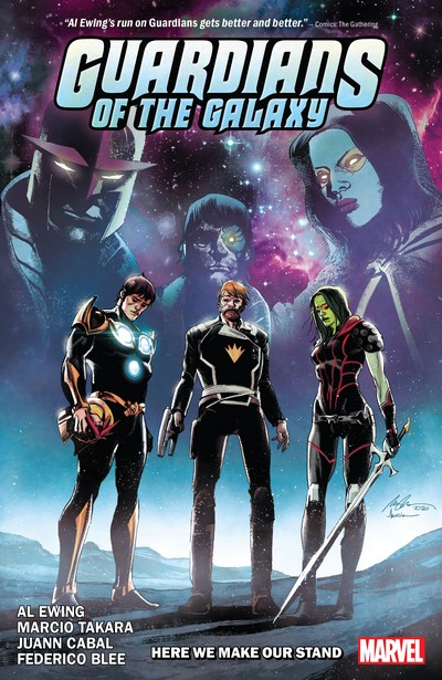 Guardians Of The Galaxy Vol. 2 – Here We Make Our Stand (TPB) (2021)
