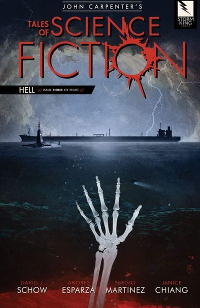 John Carpenter's Tales of Science Fiction – Hell #3 (2021)