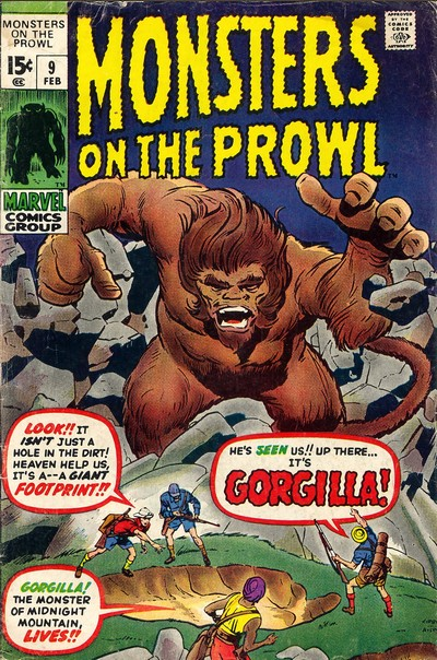 Monsters on the Prowl #9 – 30 (1971-1974)