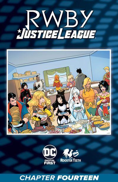 RWBY – Justice League #14 (2021)